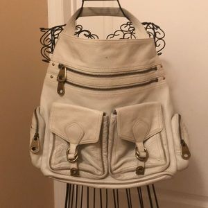 Marc by Marc jacobs White leather shoulder bag